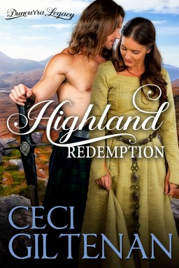 Ceci Giltenan - Highland Redemption cover